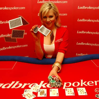 Abi Titmus Promotes Ladbrokespoker.com European Ladies Championship (ELC) at the Ladbrokes Paddington Casino in London