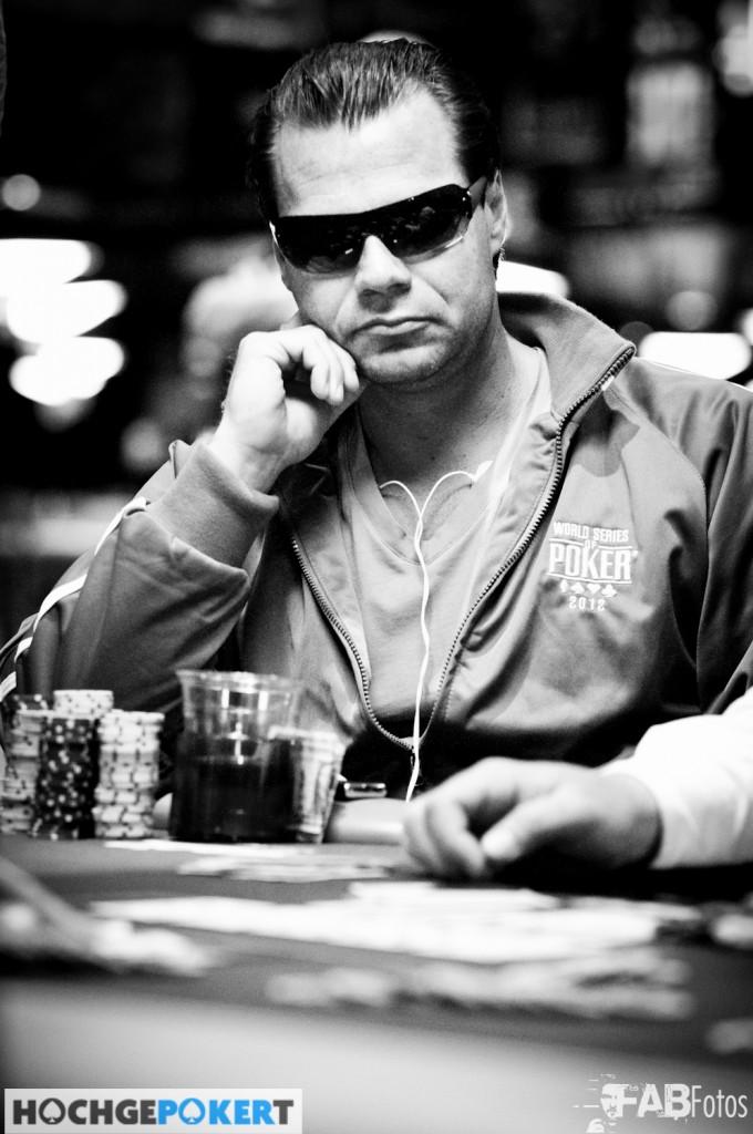Straße Beim Poker