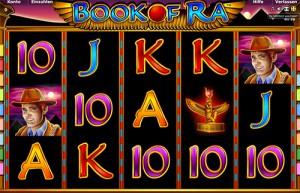 Book of Ra zählt zu den beliebtesten Automaten-Spielen