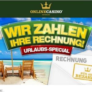 online casino deutschland urlaubsspecial
