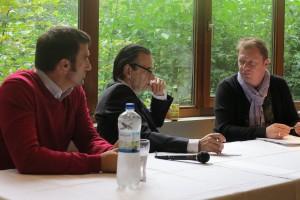 DPSB Talkrunde 07092014 Stephan Kalhamer, Udo Gartenbach und Jens Hauschke