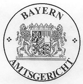 Dienstsiegel_Bayern_Amtsgericht