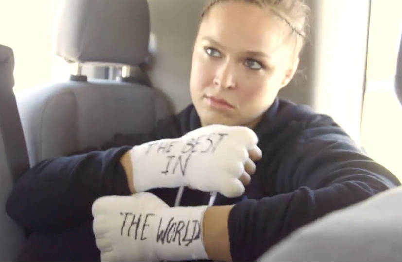 ronda rousey best in the world
