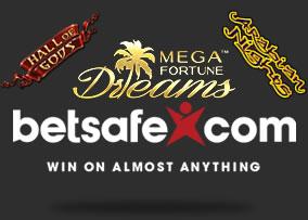 Betsafe Casino Online Jackpots
