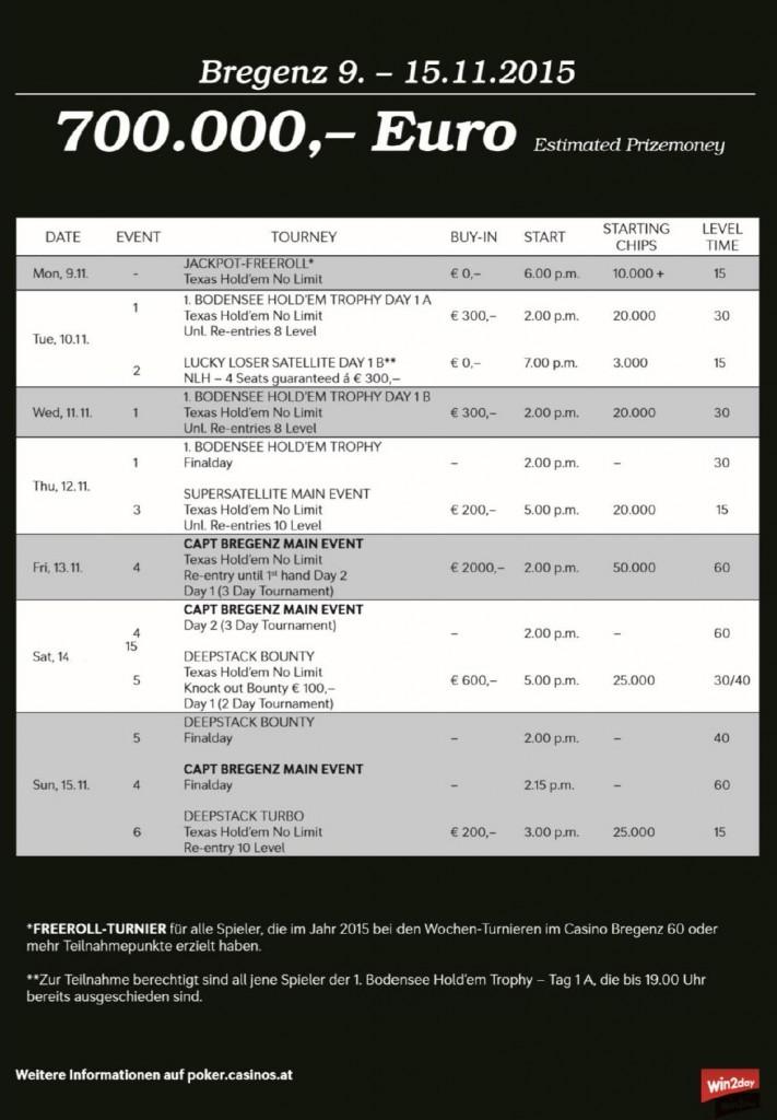 CAPT Schedule Bregenz