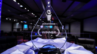 PokerNews Cup Trophy