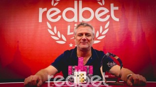 RedBet Live Main-Event Gewinner Makarios Avramidis (GRE/GER)