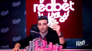 April RedBet Live Sieger David Sanchez (ESP)