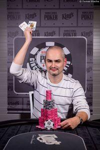WSOPC Sieger Event #2 Stanislav Koleno (SVK)