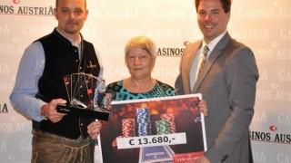 CAPT Bad Gastein Main Event Siegerin Anna Hochmeister (AUT)