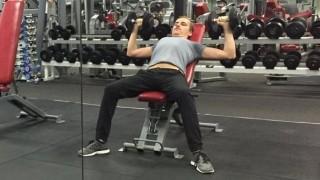 Phil beim Training
