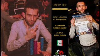 Overall Chipleader Stefano Rossomando (ITA)