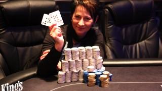 Marion Storch holt den Sieg beim Local Hold' em Deepstack