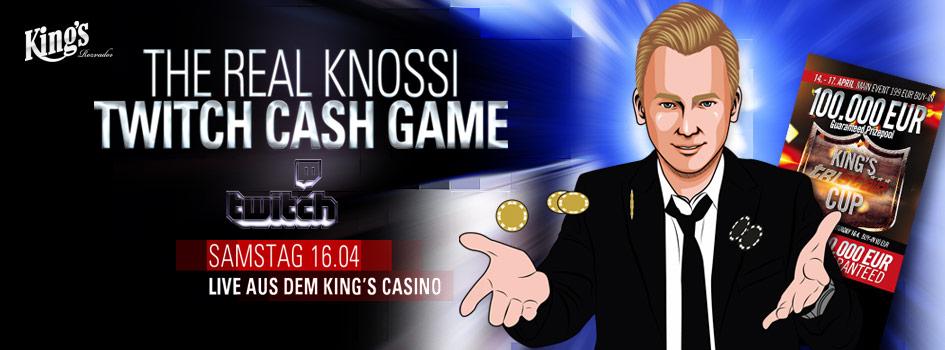 Knossi Twitch Cash Game 2