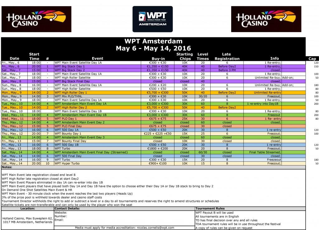 WPT-Amsterdam-2016-Tournament-Schedule
