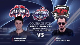 Marc Andre Ladouceur vs. Igor Yaroshevxkiy