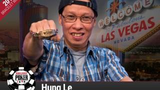Hung Le gewinnt das WSOP Crazy Eights Event