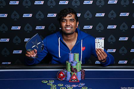 Pratyush Buddiga-Winner 33 Event-nl 25K-EPT 13-Barcelona-4313