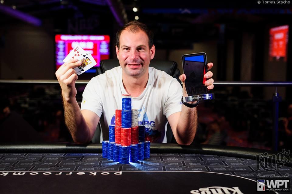 Winner Julez WPT Wanted Bounty €220 04.08.16