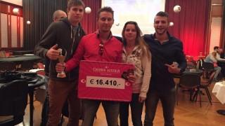 Strahlende Sieger der Casino Baden Masters