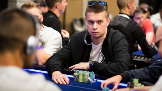 Marek Grześka ist klarer Chipleader
