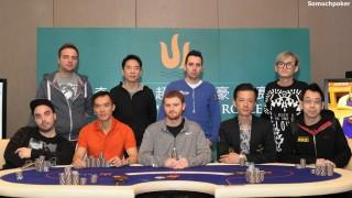 Die neun Finalisten