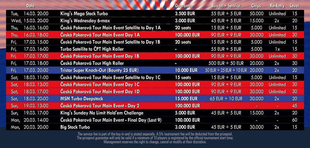 CPT Schedule