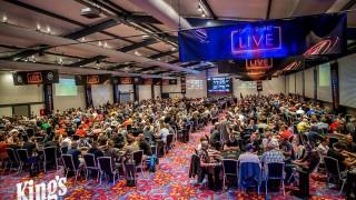 Volles Haus in der King's Poker Arena