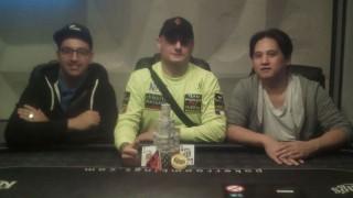 Die Gewinner des 888Live Championship Series Event #3