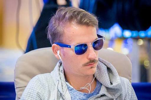 Chipleader Philipp Gruissem (GER)