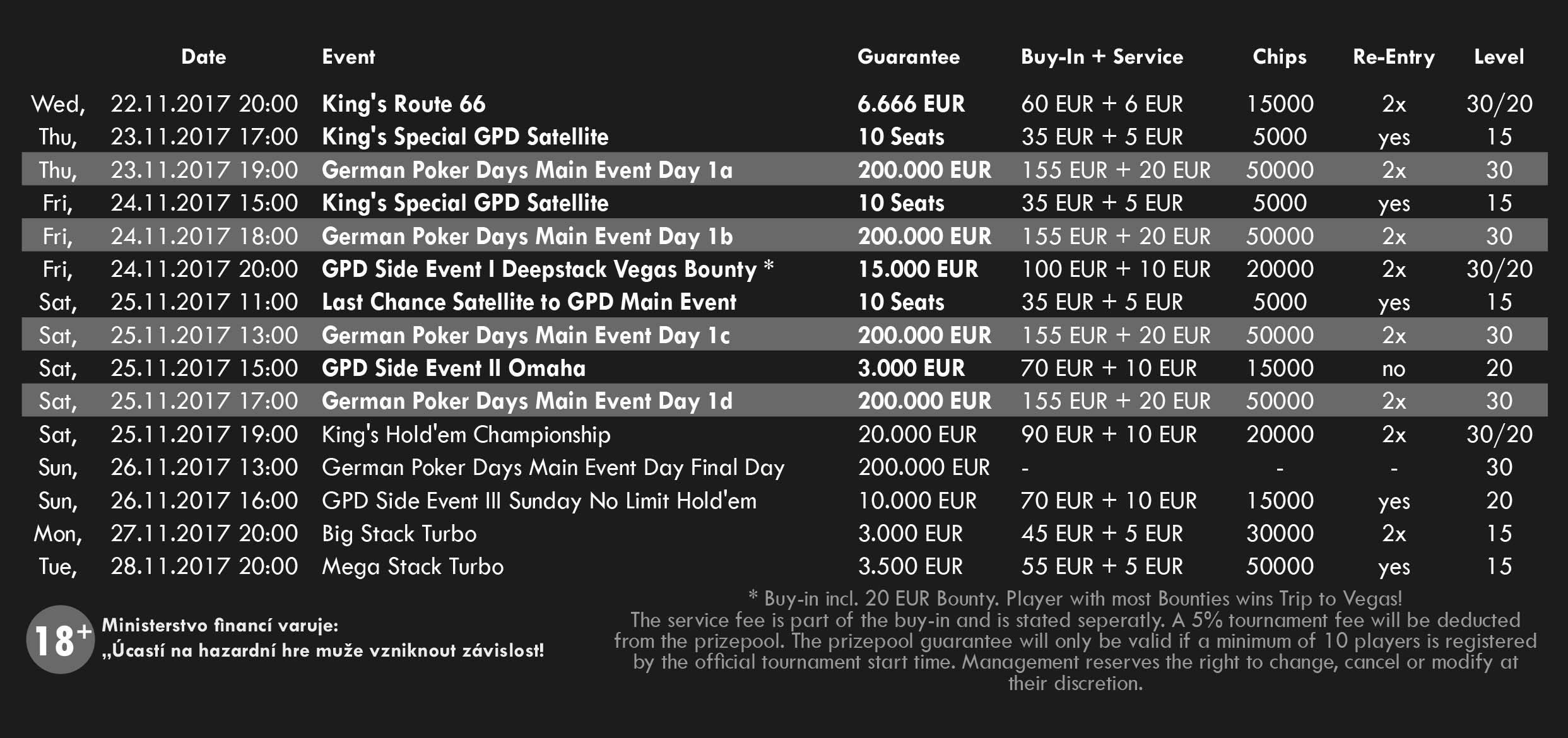 GPD Schedule Nov2017
