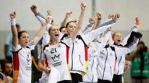 deutschland handball frauen jubeln