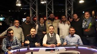 Die neun Finalisten des abschließenden Bounty-Turniers