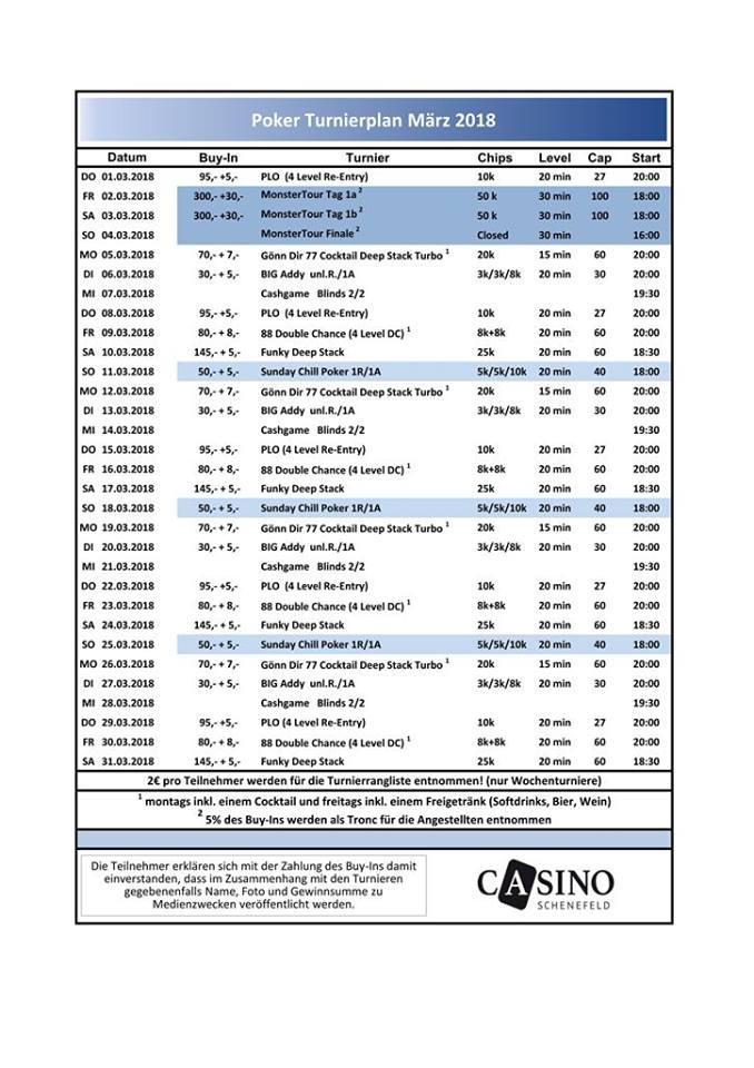 Turnierplan März Schenefeld