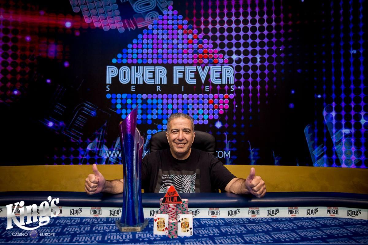 14052018winner pic Poker Fever Main Event
