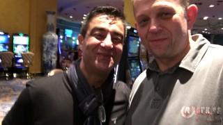 Hossein und Stefan