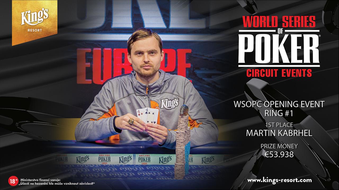 24092018 winner pic WSOPC Opening Event Ring #1