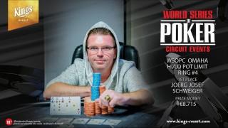 29092018winner pic WSOPC Pot Limit Omaha High Low (Ring #4)