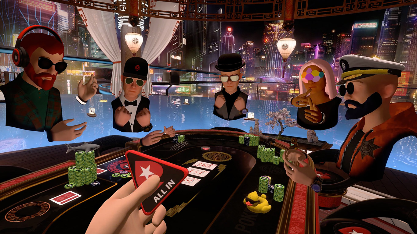 Pokerstars VR Macau 2050