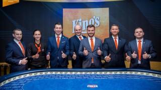 Das King's Poker-Team
