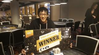 Omaha Champion Xiaozhe Liu (CHN)