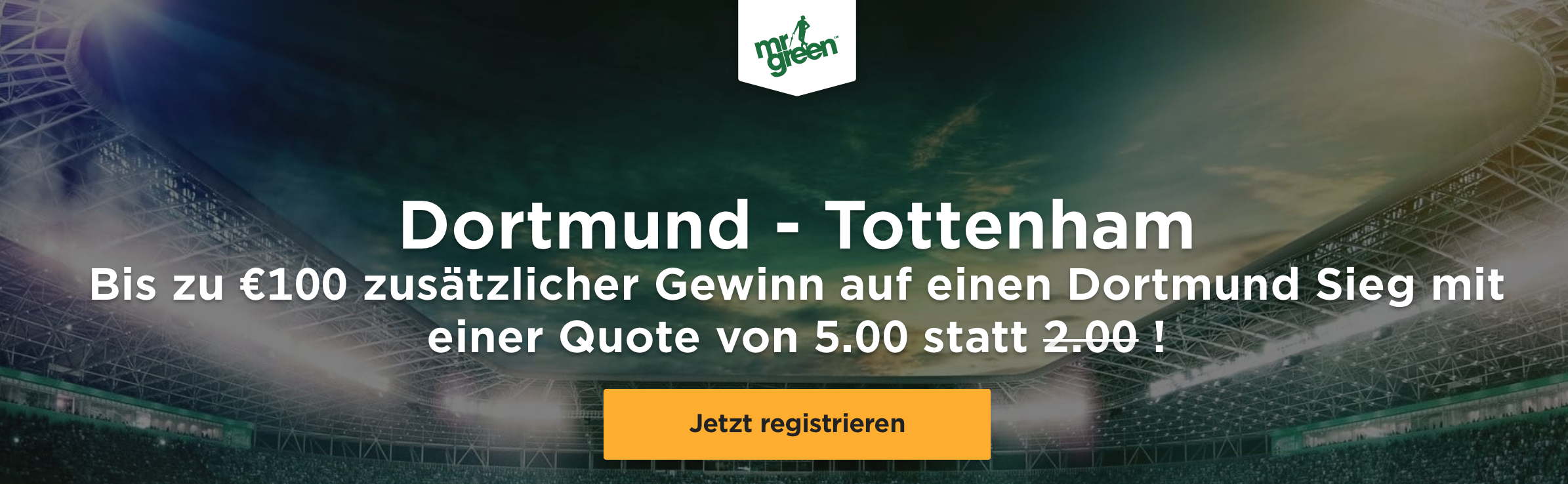 BVB_Tottenham_Quotenboost
