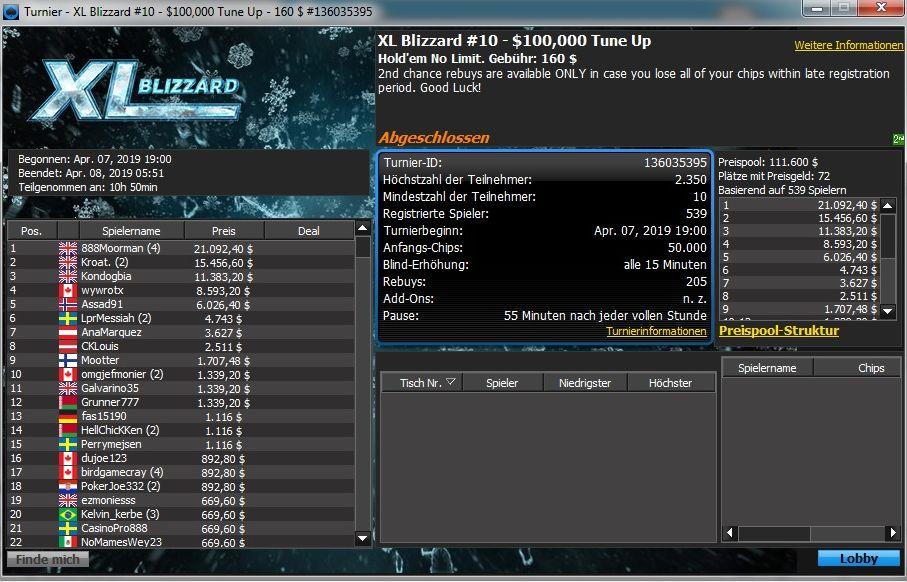 XL Blizzard 10