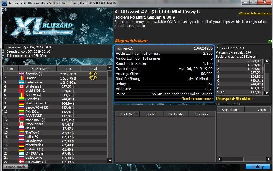 XL Blizzard 7